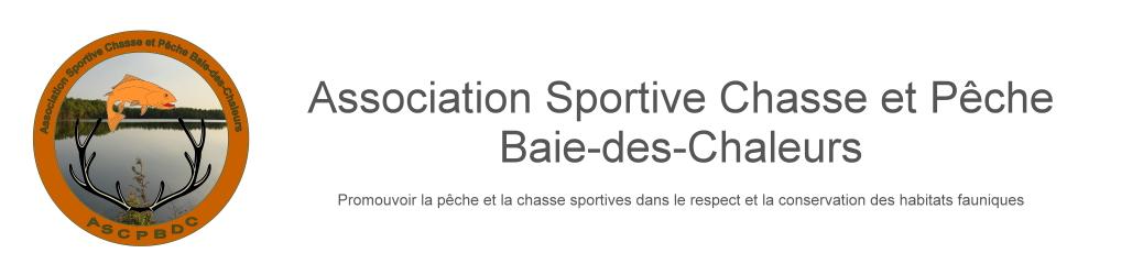 Association Sportive Chasse et Pêche Baie-des-Chaleurs
